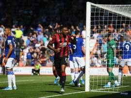 Wilson croque Everton. Twitter/AFCBournemouth