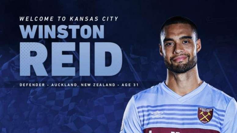 El Sporting Kansas City consigue la cesión de Reid. Twitter/SportingKC