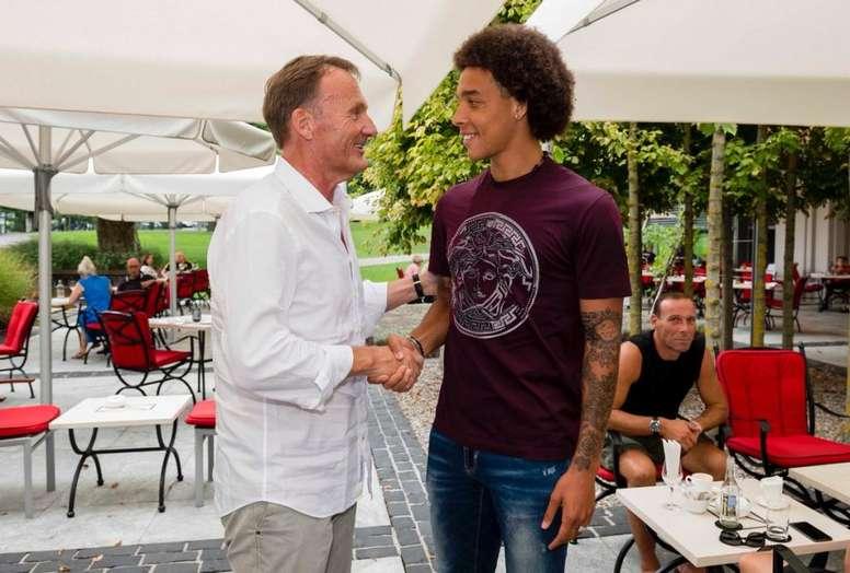 Witsel est un joueur de Dortmund. BVB