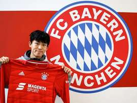 He is back at Bayern. Twitter/Bayern