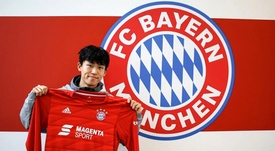 He is back at Bayern. Twitter/Bayern
