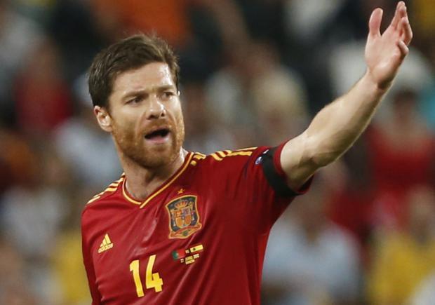 Xabi Alonso sempre se lembrará da final da Eurocopa 2012. EFE