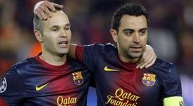 Mascherano alabó a Xavi y a Iniesta. EFE