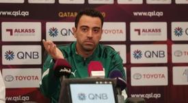 Xavi explicó la negativa al Barça. Twitter/AlSaddSC
