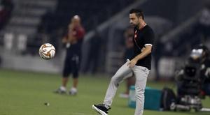 A primeira derrota oficial de Xavi como técnico. AlSaddSC