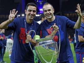 Xavi et Iniesta, l'ADN du Barça. XaviHernández