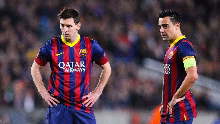 Xavi Messi Will Stay At Barca Besoccer