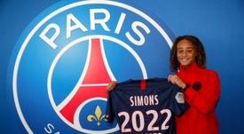Xavi Simons, nuevo jugador del PSG. Twitter/PSG_inside