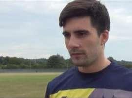 El centrocampista se marcha a Inglaterra para iniciar una nueva aventura. OxfordUnited