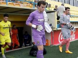 Ximo Miralles, jugador de las categorías inferiores del Villarreal. YouTube
