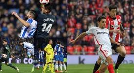 Les 8 clubs en quarts de finale. EFE