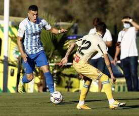 Ce joueur de Malaga qui veut représenter l'équipe d'Algérie. afp
