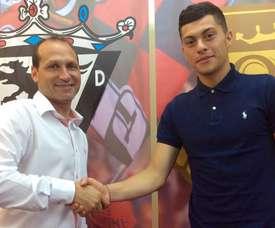 El Mirandés cerró un acuerdo con Yanis Rahmani. CDMirandés