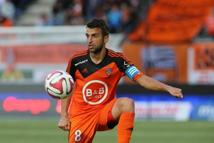 Jouffre cambiará el Lorient por el Metz, equipo recién ascendido a la Ligue 1. AFP/EFE