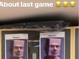 West Ham players pranked Yarmalenko. Captura instagram YarmalenkoAndrey
