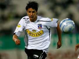 Yashir Pinto fue el protagonista con la Selección de Palestina. ColoColo