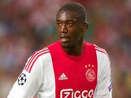 Yaya Sanogo, lors de son étape à l'Ajax Amsterdam. Twitter