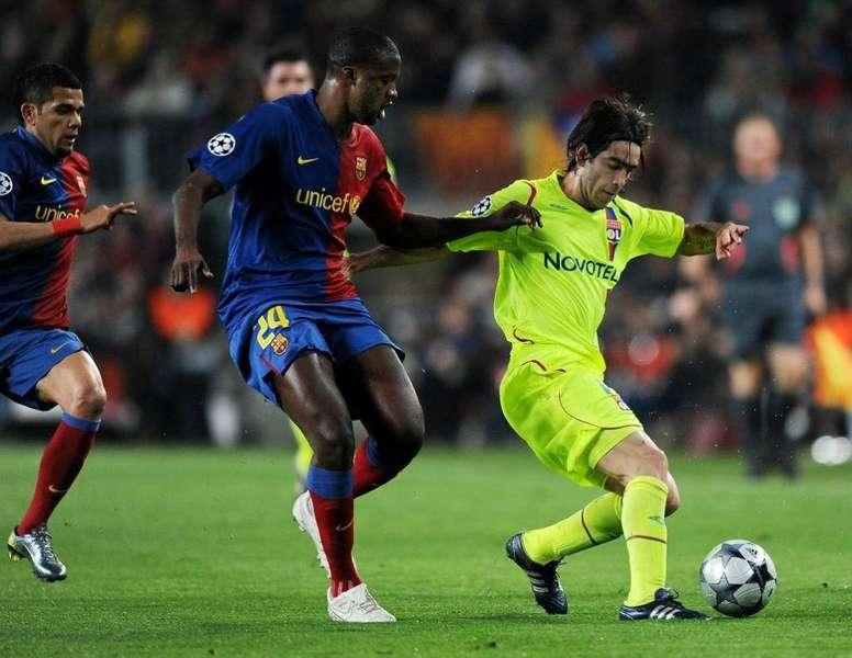 Yaya Touré lesionó a Francelino Matuzalem. EFE/Archivo