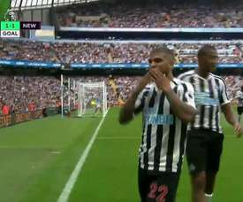 Yedlin celebrates his goal. Screenshot/Movistar