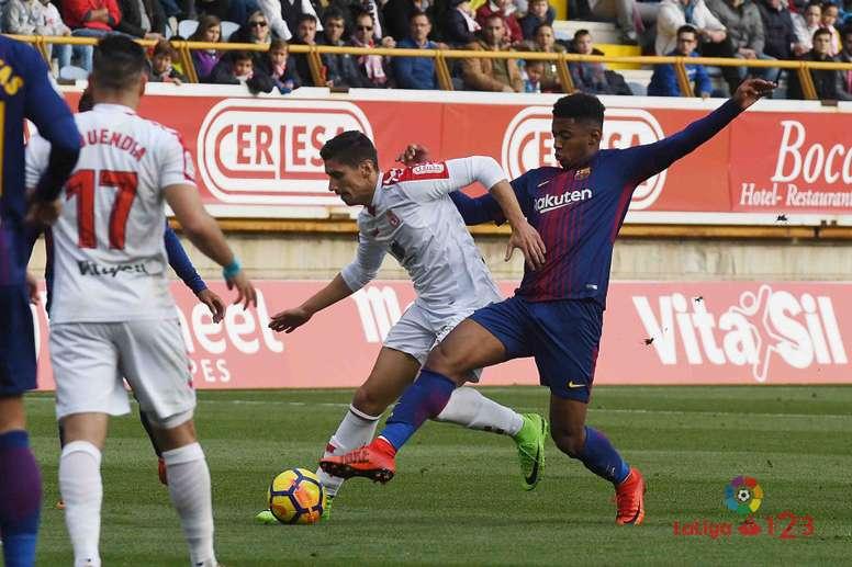 La Cultural Leonesa ganó en casa del Barcelona B. LaLiga