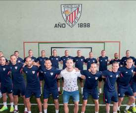Athletic shave heads for Yeray. AthleticClub