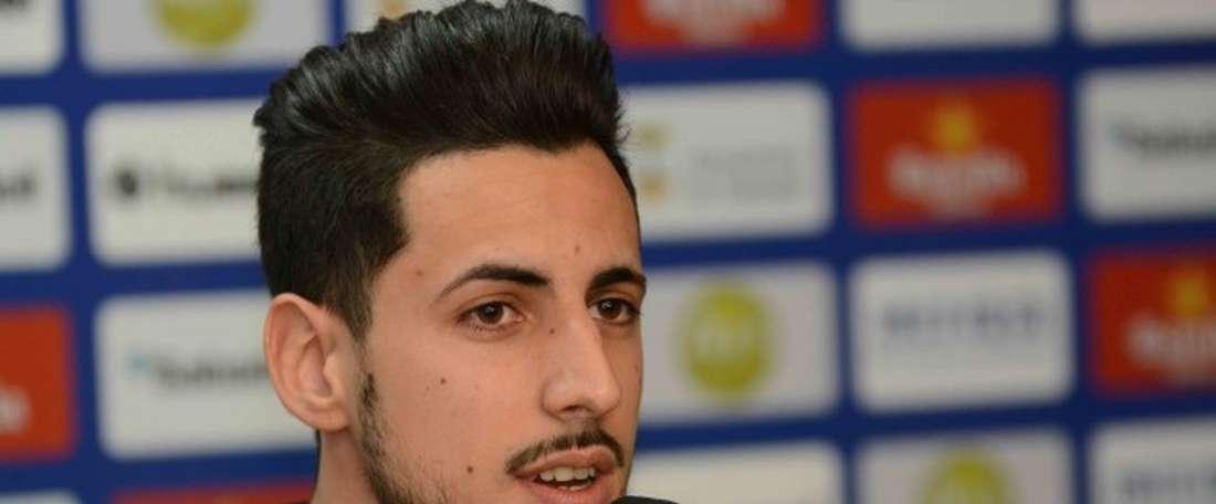 Yeray sufre una grave lesión. Sabadell
