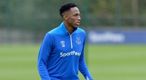 Yerry Mina a pu jouer 90 minutes en match amical. Everton