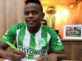 Candelo firmó por tres años. EFE