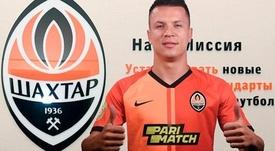 El atacante vuelve a la Liga Ucraniana cuatro años después de su marcha del Dnipro. Shakhtar
