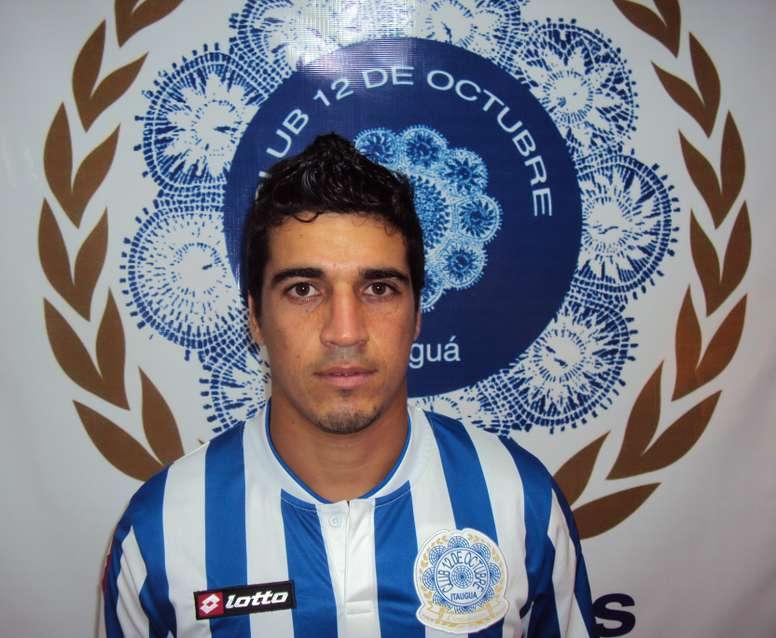 Yimmi Cano, ex de 12 de Octubre, jugará en Nacional de Asunción. Caacupé FBC