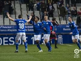 Yoel Bárcenas marcó el 1-0 en el minuto 23. LaLiga