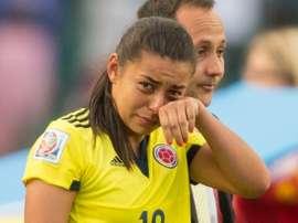 Yoreli Rincón se perdió los Juegos Olímpicos por una lesión. AFP