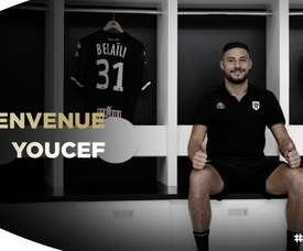 El argelino debutará en la Ligue 1. AngersSCO