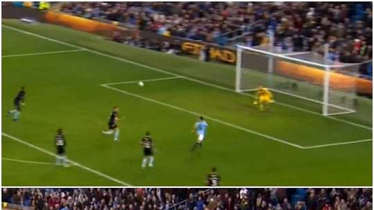 Foden marked his cup debut with a maiden home goal. CAPTURA/MONTAGE