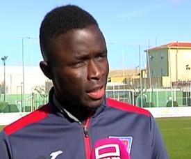 Diop denuncia los hechos sucedidos ante el Albacete B. witter/CMM_es