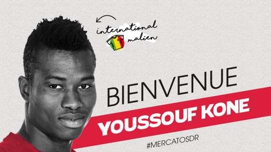 Youssouf Koné, de Lille, officialise son prêt à Reims. StadeRennais