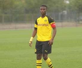 Moukoko tem 103 gols em 64 jogos. Twitter/Guardiolato