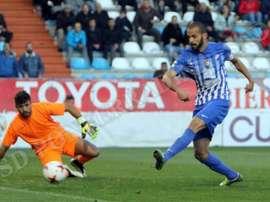 Yuri sigue marcando goles en la Ponferradina. SDPonferradina
