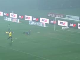 Yuri Ribeiro marcó el 2-0 para Rio Ave. Captura