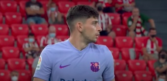 Demir, orgulloso de su histórico debut. Captura/MovistarLaLiga