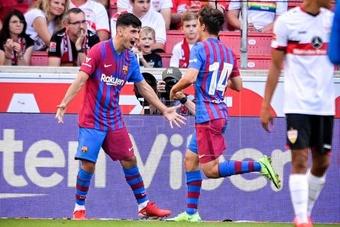 O Barça pagará dez milhões ao Rapid Viena por Demir. AFP