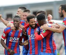 Palace beat Norwich to claim their third win of the season. Twitter/CPFC