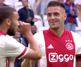 El Ajax ya ganó por la mañana al Holstein Kiel. Captura/AFCAjax