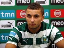 Zakaria Labyad no contaba para el entrenador del equipo luso. Twitter