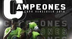 Zamora se apunta a la Sudamericana ganando la Copa Venezuela. ZamoraFutbolC