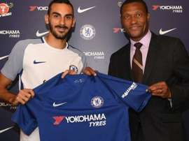 Chelsea's new boy has been drafted in to join the Italy squad. Twitter/ChelseaFC