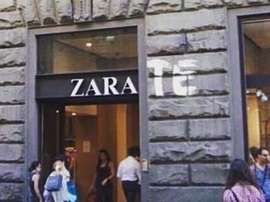 Zara-Te, the new branding for the shop 'Zara' in Florence. Twitter