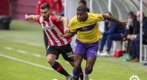 El Logroñés venció por la mínima al Almería. LaLiga