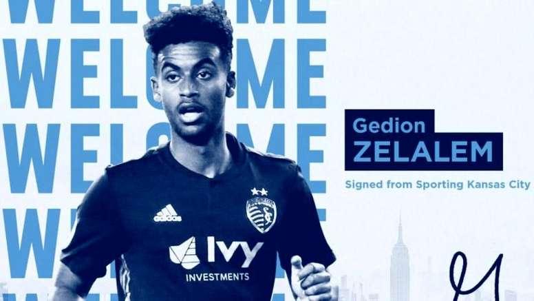 Zelalem signe à New York City. NewYorkCity
