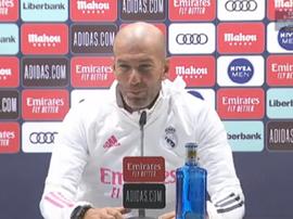 Zidane le deseó lo mejor a Bale. Captura/RealMadrid